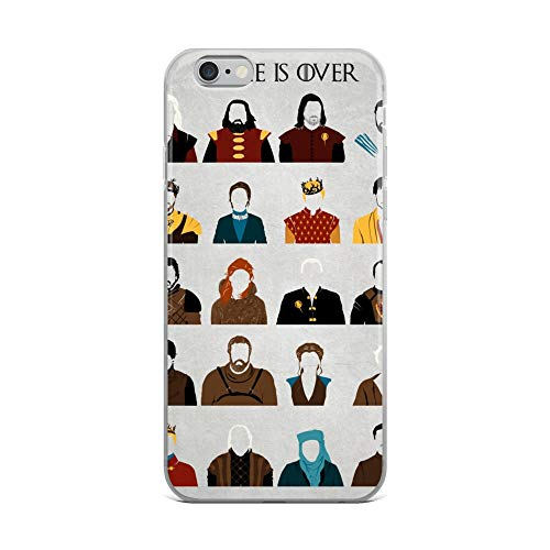 iPhone 6 Plus/6s Plus Case Anti-Scratch Television Show Transparent Cases Cover Game is Over Tv Shows Series Crystal Clear