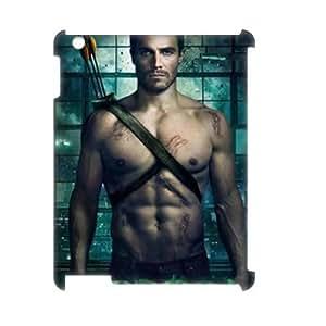C-EUR Green Arrow Pattern 3D Case for iPad 2,3,4