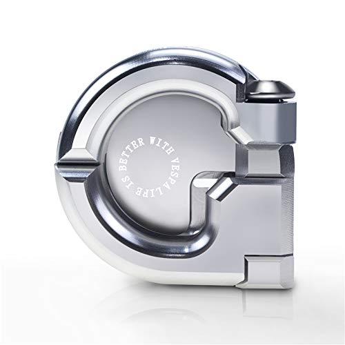 PRO-KODASKIN Storage Hook Crotchet for Vespa Model GTS300 GTS GTV LX LT (Silver)