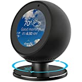 NotoCity Compatible Echo Spot Adjustable Stand, 360 Degree Rotation with Strong Magnetic Easily Adjust Echo Spot's Viewing Angle