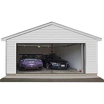 2 Car Garage Door Net 16x7ft Bug Mosquito Screen For