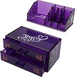 JoJo Siwa Makeup & Accessories Organizer, Purple, 1