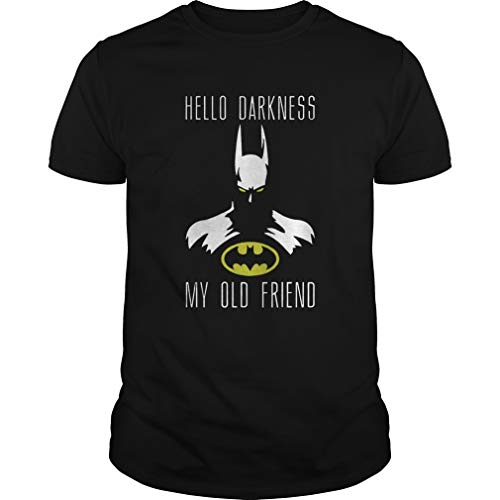 Batman hello Darkness my old friend shirt, Short Sleeves Shirt, Unisex Hoodie, Sweatshirt For Mens Womens Ladies Kids.