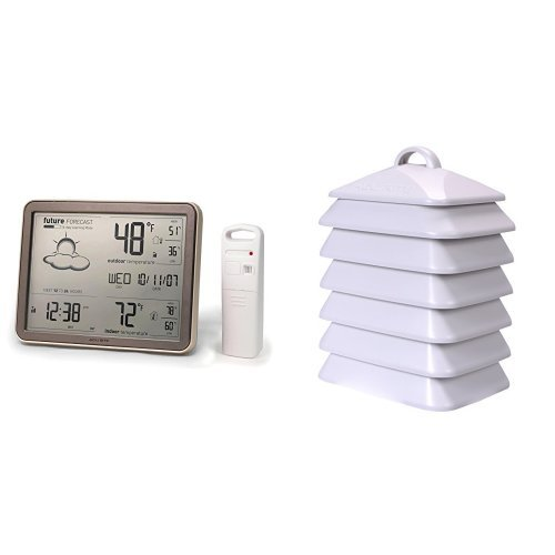 AcuRite 75077 Wireless Weather Station Bundle with 06054M Te