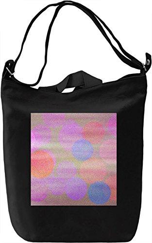 Light Texture Borsa Giornaliera Canvas Canvas Day Bag| 100% Premium Cotton Canvas| DTG Printing|