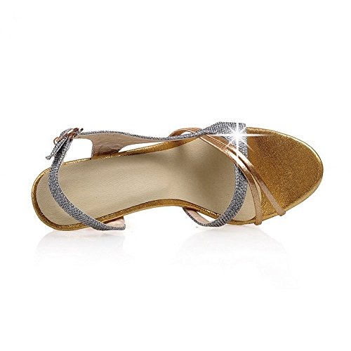 1to9 Grijs Suede Imited Sandalen Sequins Girls Classic YwpqYr