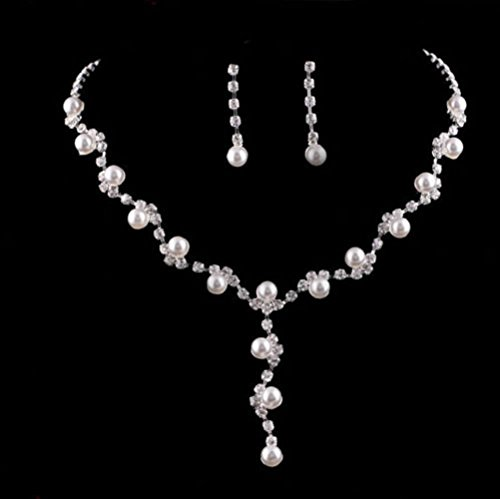 HeroNeo%C2%AE Wedding Crystal Rhinestone Necklace