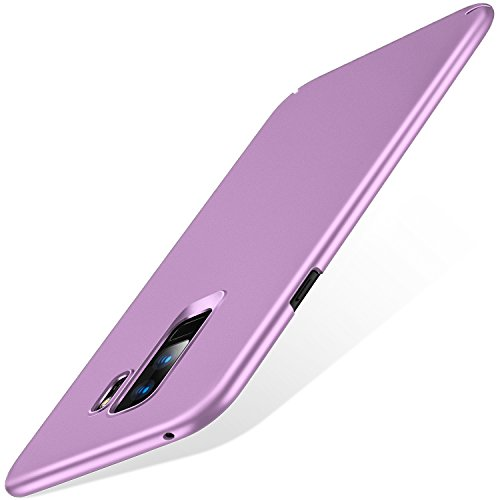 TORRAS Slim Fit Case for Galaxy S9 Plus, Hard Plastic PC Ultra Thin Phone Cover Case with Matte Finish Grip Compatible with Samsung Galaxy S9 Plus, Lilac Purple