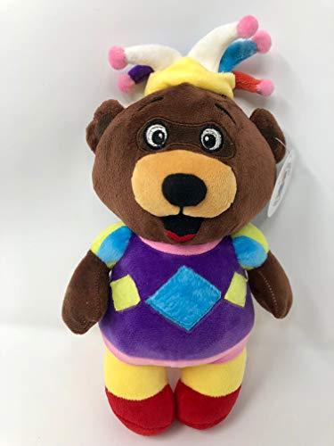 (Civilization Bears Medieval Joker Court Jester Plush Teddy Bear)