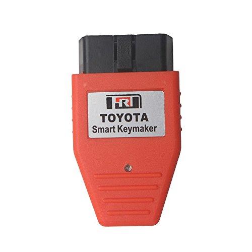 LHZTECH Mini OBD for Toyota Smart Keymaker 4C 4D chip for Toyota Smart Key maker OBD2 Eobd Transponder key programmer (Key Transponder Smart)