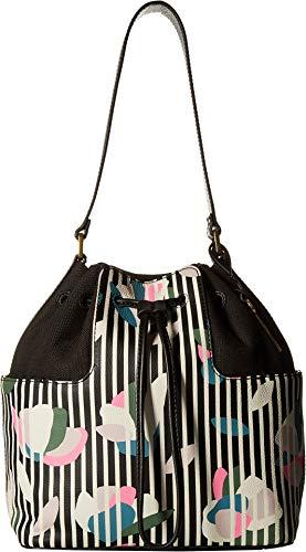 Bucket Embossed Bag - Fossil Women's Cooper Bucket Dark Floral One Size