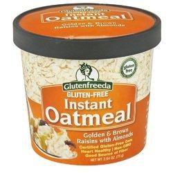 Glutenfreeda - Glutenfreeda Foods Oatmeal Cup Rsn/Almond (12x2.64OZ )