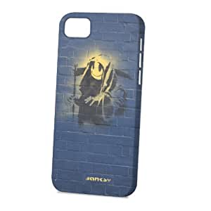 TYHde Case Fun Apple ipod Touch4 Case - Vogue Version - 3D Full Wrap - Graffiti Grim Reaper Smiley ending