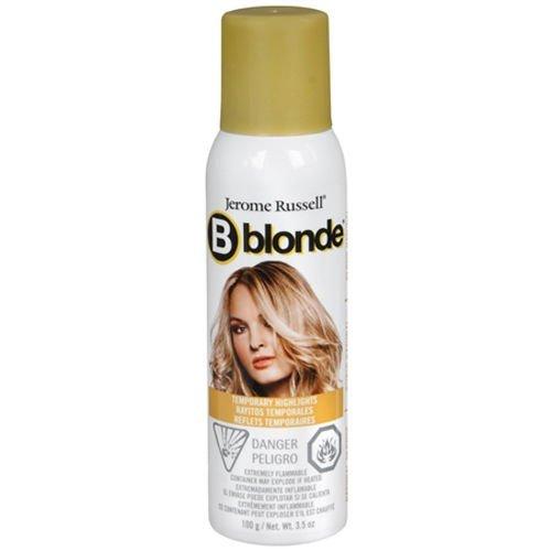 B blonde temporary highlights ,Natural Blonde,3.5 oz