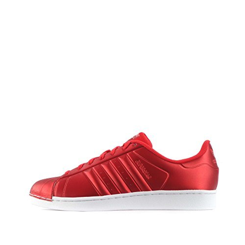 Adidas Superstar Hombre Zapatillas, Red White Bb4877
