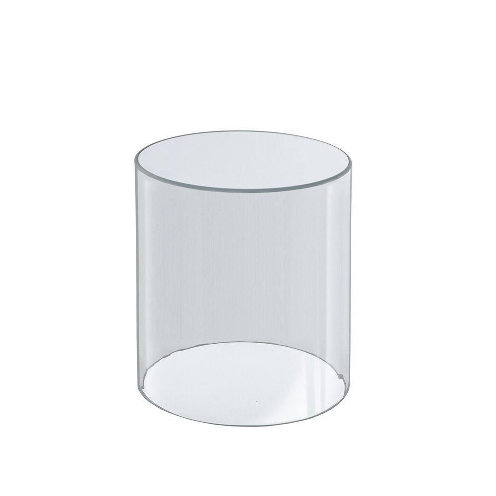 Azar Displays 556608 6-Inch W by 8-Inch H Clear Acrylic Cylinder