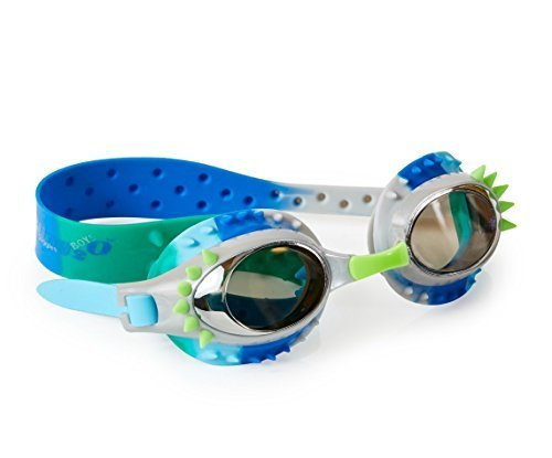 [Bling2o Boys Aquaman Swim Goggles - Cool and Functional Swimming Goggles! (Jellyfish Grey)] (Google Glass Costume)