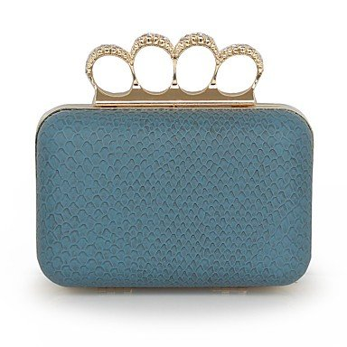 Brown Blushing For Spring Blue Casual All Blue Pattern Event Seasons KLXEB Clutch Pink Print Party TqwtxOZnPf