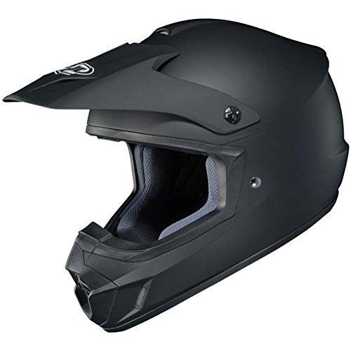 HJC Helmets CS-MX 2 Helmet (XXX-LARGE) (MATTE BLACK) (Bike Dirt Helmet Answer)