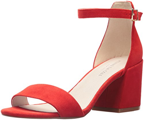 (Kenneth Cole New York Women's Hannon Block Heeled Sandal with Ankle Strap Persimmon, 10 M US)