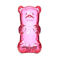 Gummygoods Squeezable Gummy Bear Night Light for Kids, Babies, Toddlers - Portable w/Sleep Timer