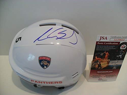 - Aaron Ekblad Autographed Signed Florida Panthers Helmet Memorabilia JSA - On Sweet Spot