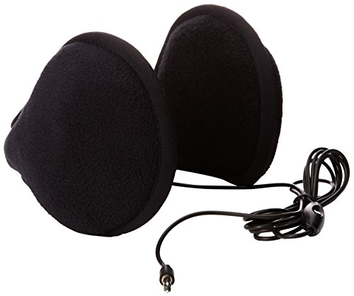 180s Tec Fleece HP Ear Warmer Head Phone, Black, One Size (E-tec Heads)