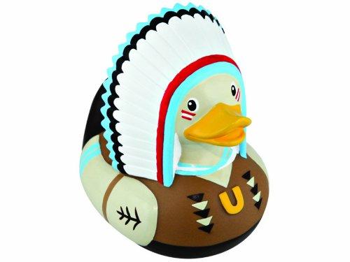 Duck Luxury Rubber Duck - Bud Rubber Luxury Duck Bath Tub Toy, Chief