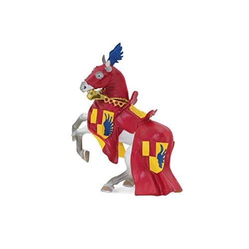 Safari Horse with Red & Blue Robe (Robe Safari)