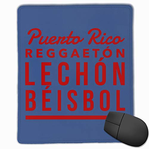 AVBER Mouse Pad Anti Slip Puerto Rico Mouse Mat for Desktops Computer PC and Laptops, Fashion Mousepad for Office and Home