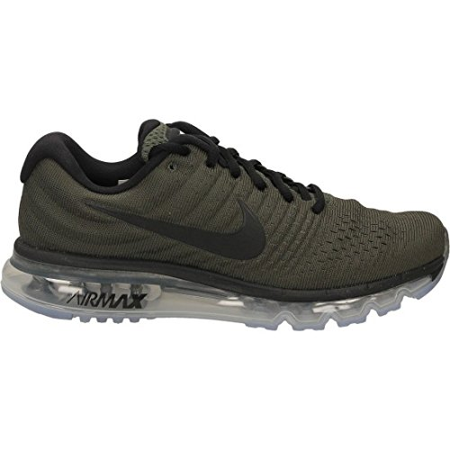 (Nike Men's Air Max 2017 Running Shoes (12 M US, Cargo Khaki/Black))