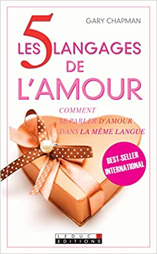 Amazonfr Les 5 Langages De Lamour Gary Chapman