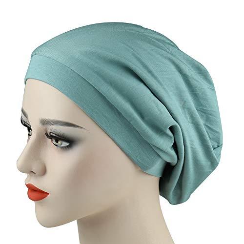 New Classic Satin Slouchy Cap Soft Sleep Hats for Women