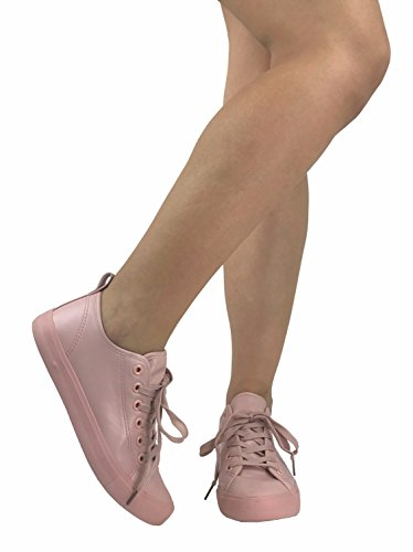 Lo Sports Canvas Womens Collection Blush The Taylor Sneakers Top Shoes x7npS