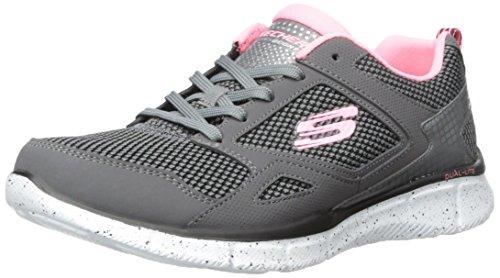Fashion Women 9 US New Sneaker School M Sport 5 Skechers Charcoal FI1wqS5