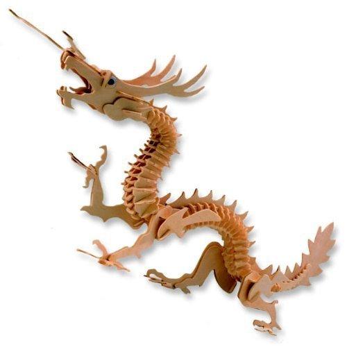 スペシャルオファ 3-D Wooden Puzzle - - Chinese Dragon Puzzle -Affordable Wooden Gift for your Little One Item DCHI-WPZ-B-M005 B004QDRVVS, イシダスポーツ:8bdc4451 --- quiltersinfo.yarnslave.com