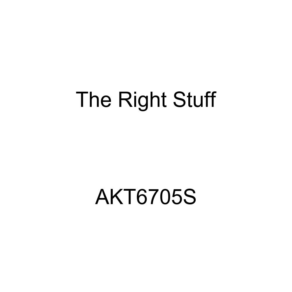 4 Piece The Right Stuff AKT6705S Stainless Standard Drum 6 Cylinder Front Brake Line Kit