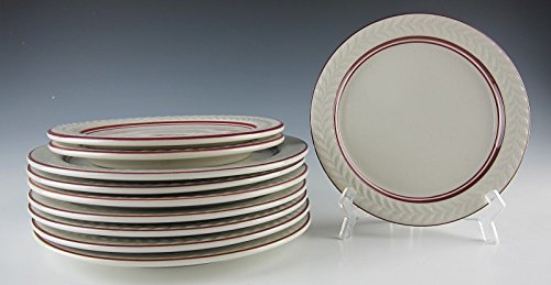 Lot of 10 Shenango China Plates 7 Salad and 3 Bread and Butter