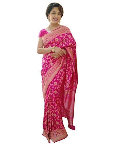 Madhuri Dixit's Pink Banarasi Saree (Best Of Madhuri Dixit)