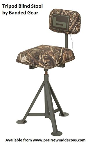 Banded B08715 Tripod Blind Stool MAX5 Hunting Gear by Banded