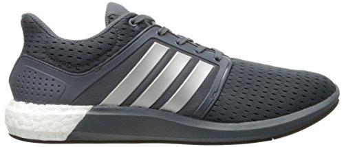 Adidas Performance Boost Solar M Zapato corriente, Colegiado Azul marino / blanco / azul royal, 4 M Onix Grey/Silver/Black