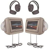 POWHDVD9BG - Power Acoustik MONITR DVD HEADPH-BG