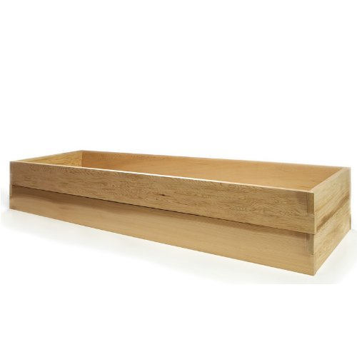 All Things Cedar Vegetable Boxes, Double Raised Garden Be...