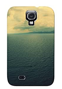 Cumywgq3683uoBcX Hot Fashion Design Case Cover For Galaxy S4 Protective Case (calm Ocean )