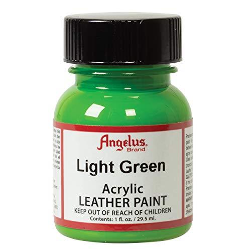 (Angelus Acrylic Leather Paint, Light Green, 1 oz.)