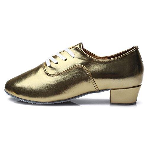Bal Or Danse Salle Garçon maquette Pour 3 Latines Danse Satin Hipposeus Homme 5cm Chuaussures men Frcl En amp; Chaussures De standard E0dnRw