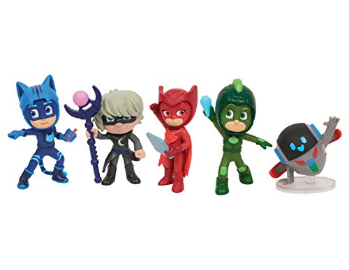 PJ Masks Super Moon Adventure 5pk Collectible Figures
