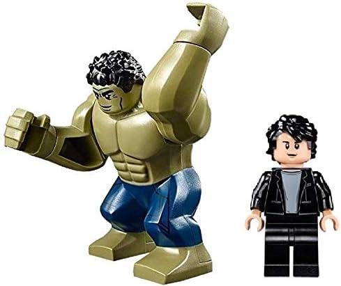 LEGO Superheroes: Hulk and Bruce Banner Minifigs