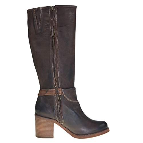 YELLOW CAB - Boot RORY W - Y 29107 - dark brown