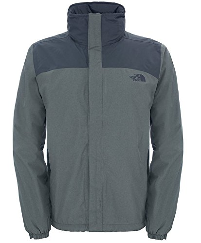 Amazon.com : The North Face TNF M Resolve Jacket S Grey ...